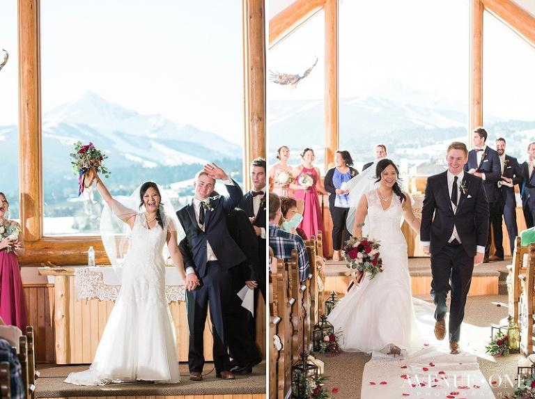 Wedding Ceremony Sky Chapel Montana